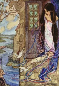 The Lady of Shalott by Emma Florence Harrison
