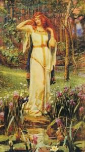 """Freyja and the Necklace"", by J. Doyle Penrose (1862-1932), circa 1913."