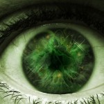 green-horror-eye